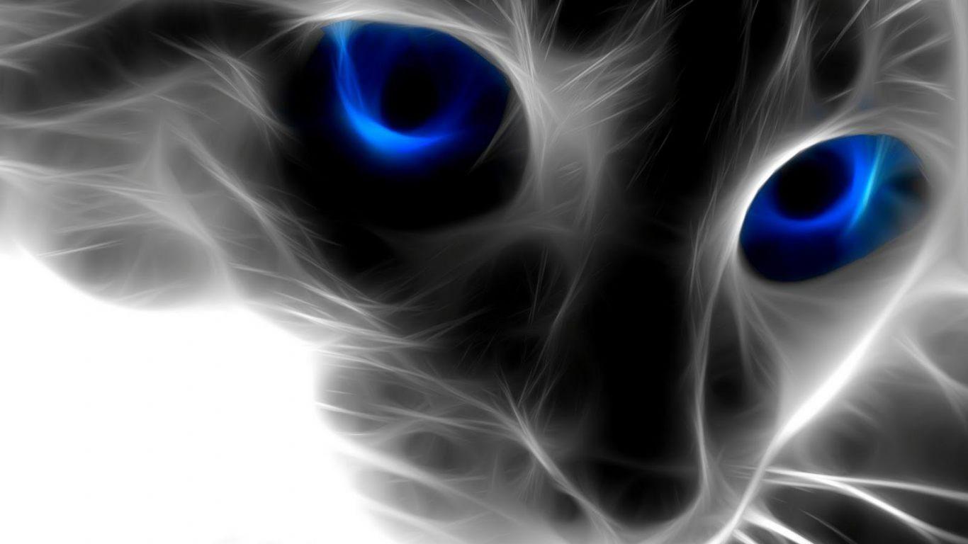 Fondo Artístico De Un Gato