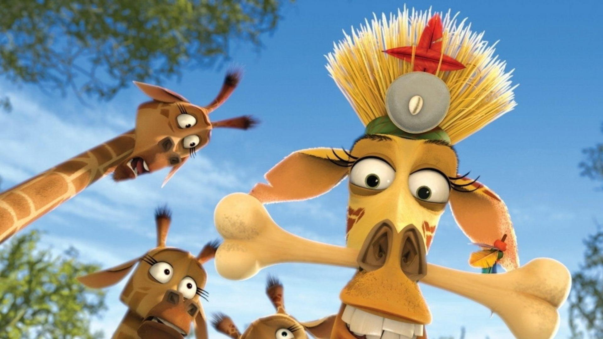 Jirafa de Madagascar Melman - 1920x1080 :: Fondos de pantalla y ...