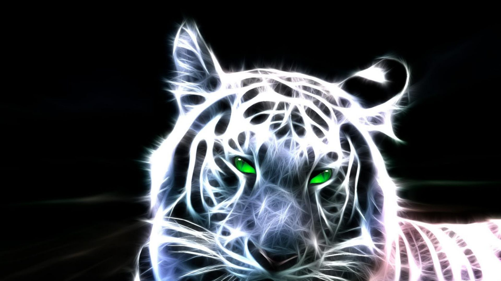 Impresión del tigre Wallpaper