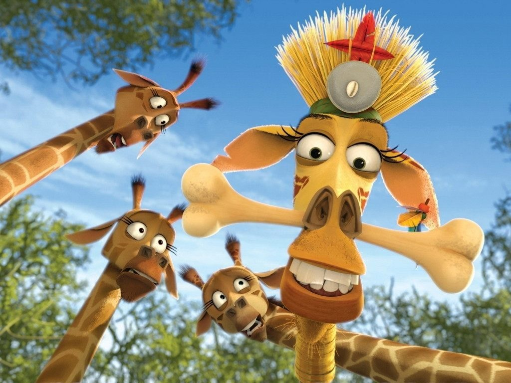Jirafa de madagascar melman im genes y fotos - Cartone animato giraffe immagini ...